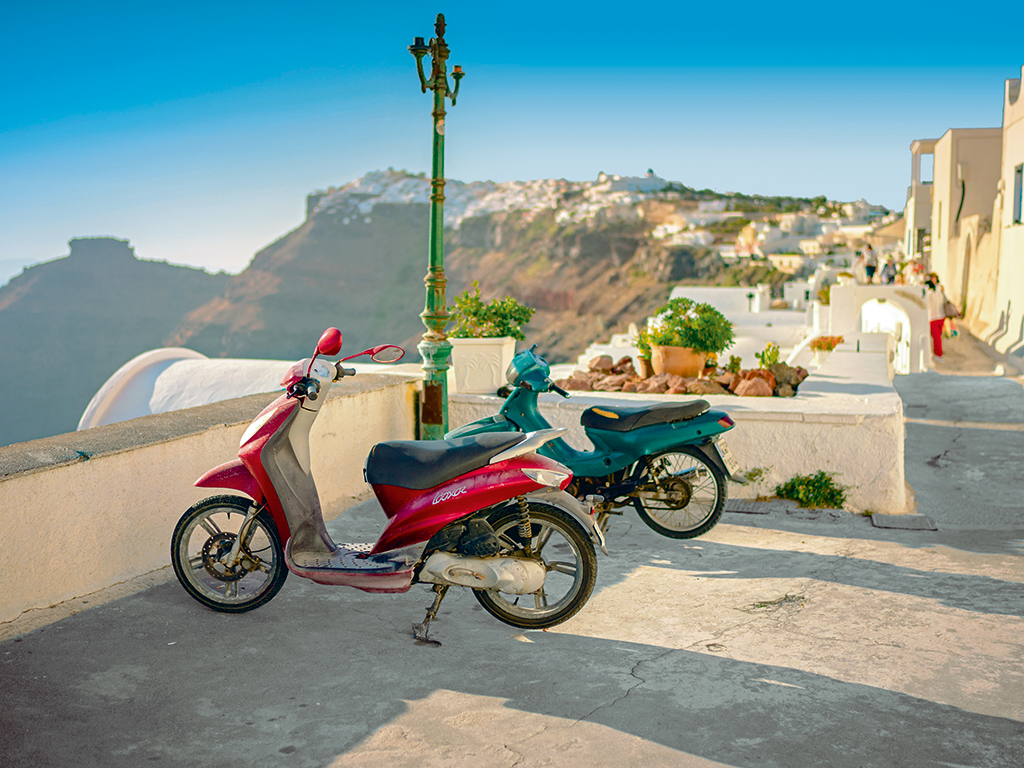Scooters Greece
