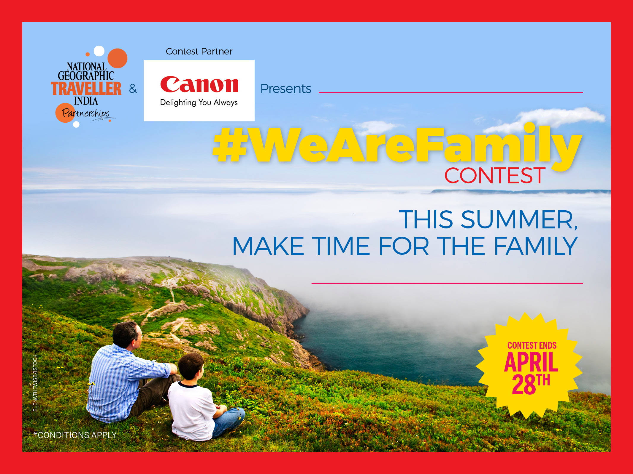 Hurry! Contest ends April 28th 2017.