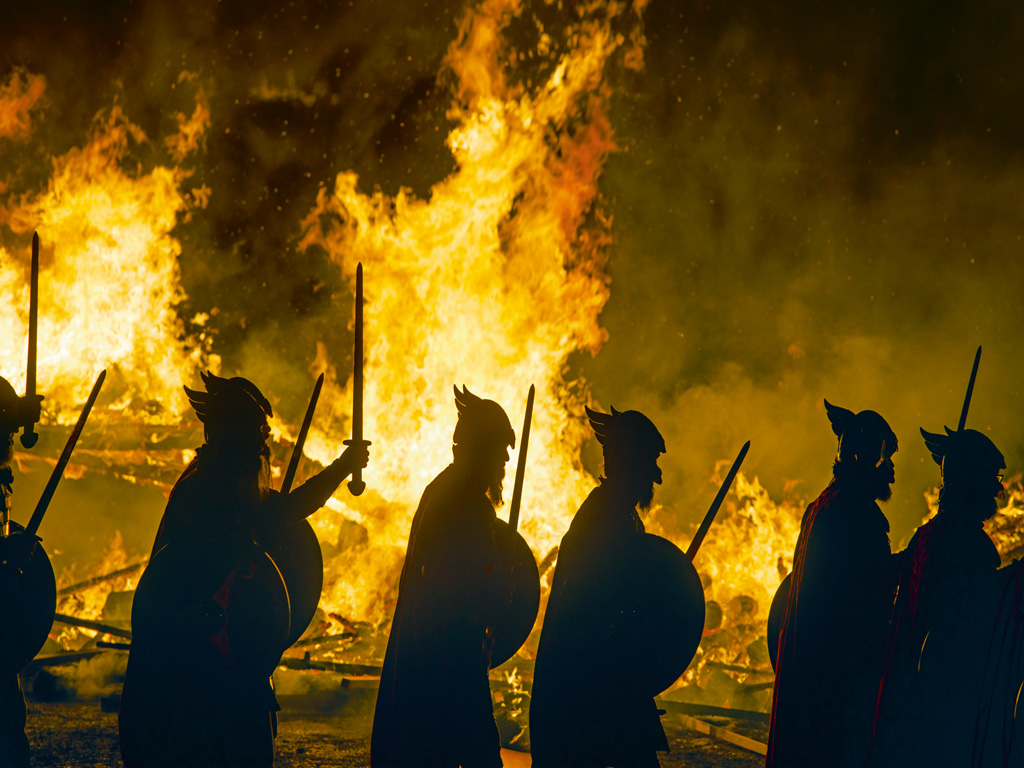 Up Helly Aa festival, Scotland