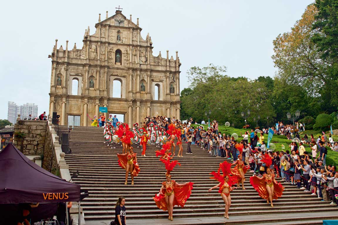 Mater Dei church parade Macao