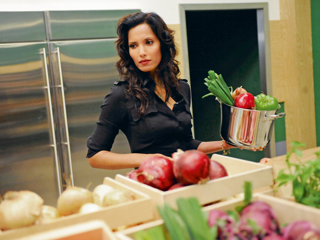Eating her way through the world, Padma Lakshmi has learnt a lot about cultures, and more about herself. Photo by Bravo/Contributor/NBCUniversal/getty images.