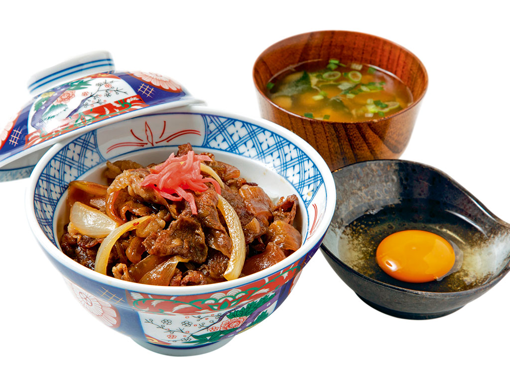 Gyudon in Japan