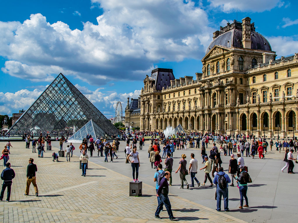 Sudha Murty likes to explore places at her own pace. For instance, she spent six days in Paris's Louvre museum; her husband, on the other hand, skipped Louvre altogether in the three years that he lived in Paris. Photo by Latsalomao/iStock.