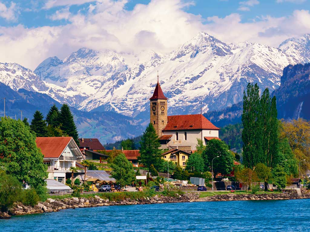 """Switzerland is another favourite destination of Bajaj's. """"The whole country is so picturesque and the people are highly disciplined,"""" he says. Photo by Boris Stroujko/Shutterstock."""