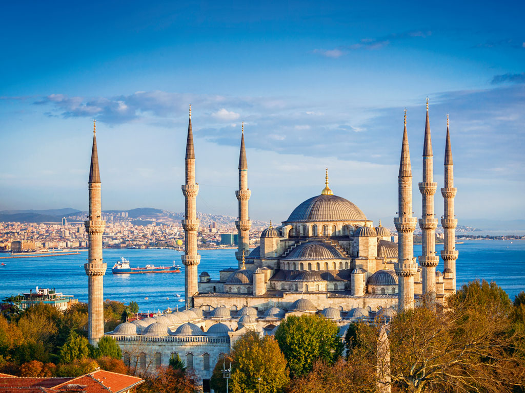 Work on the Blue Mosque began in 1609 and took seven years. Tharoor says it is perhaps the most beautiful building he has entered in the world. Photo by: Nikada/istock