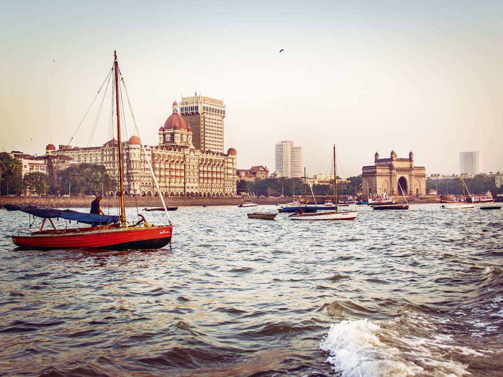 The Gateway of India stands guard over Mumbai. With a rich history, the monument is a symbol of the city's resilience.