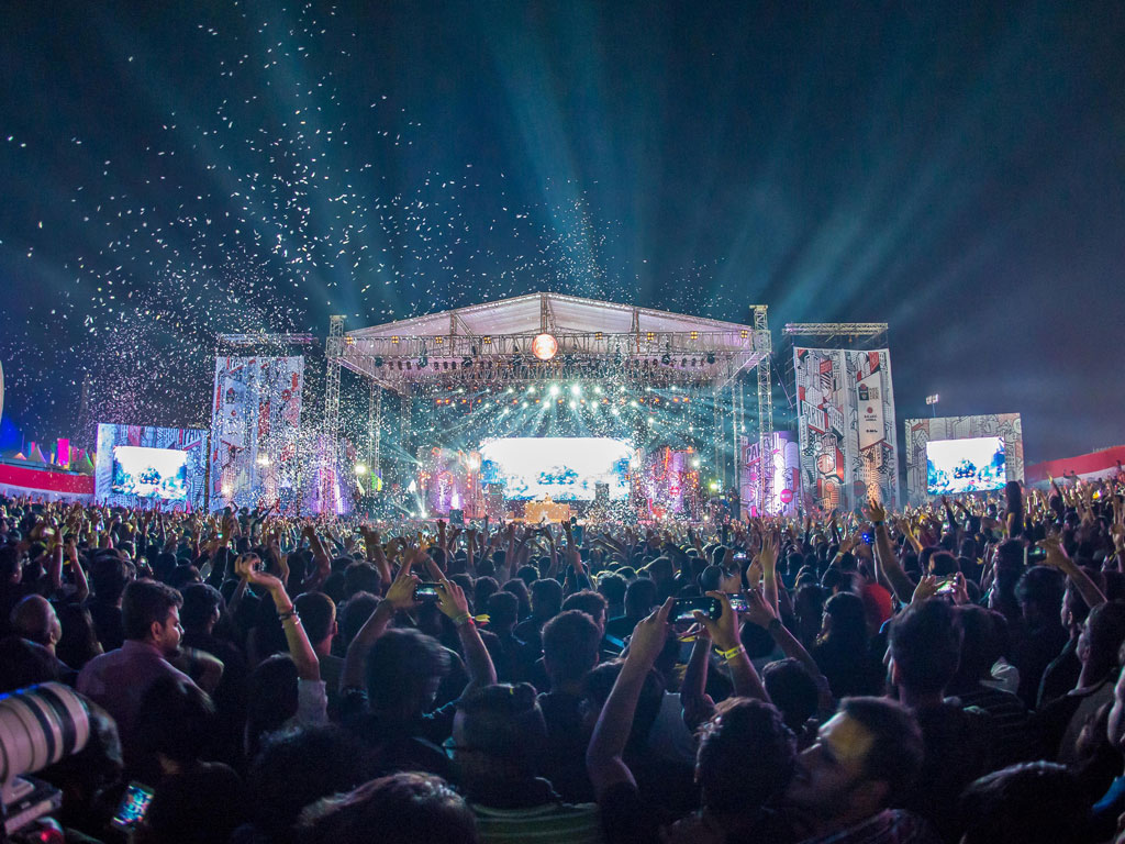 With each passing year, the NH7 Weekender has increased in scale, and the lineup more impressive. Photo by The Clique Photography.